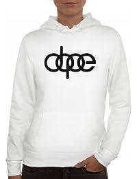 Shirtstreet24, Dope Ringe, Lady/ Damen Kapuzen Hoodie Pullover - Sweatshirt