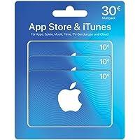 Geschenkkarte für App Store & iTunes Multipack - für Deutschland - per Post