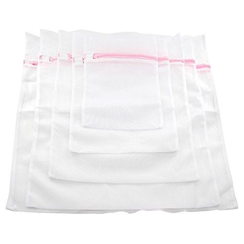 Jumbo-netz Strümpfe (Xcellent Global 8er Set Netz Empfindliche Wäsche Beutel Waschen Reisen Organisator-Beutel für Bluse, Strumpfwaren, Strumpf, Unterwäsche, Büstenhalter und Unterwäsche, 3 Kleine, 2 Medium, 1 Große, 1 Extra große und 1 Jumbo Beutel HG144)