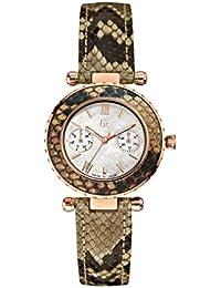 Guess Damen-Armbanduhr Analog Quarz Edelstahl X35006L1S