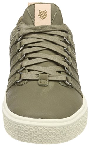 K-Swiss Donovan P, Sneakers Basses Homme Vert (Covert Green/antique White)