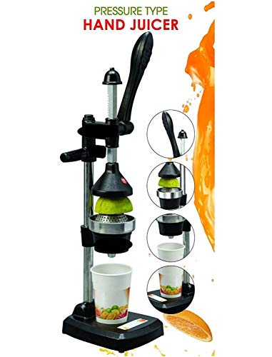 BTC Hand Press Juicer (Black)