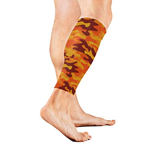 Wfispiy Classic Clothing Masking Camo Calf Compression Sleeve Leg Compression Socks for Shin Splint Calf Pain Relief Men Women and Runners Improves Circulation Recovery -