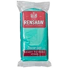 Renshaw Fertig Zum Ausrollen Zuckerglasur - Jade-Grün - 250g Renshaw Decorice Fondant-Kuchen Von Yolli