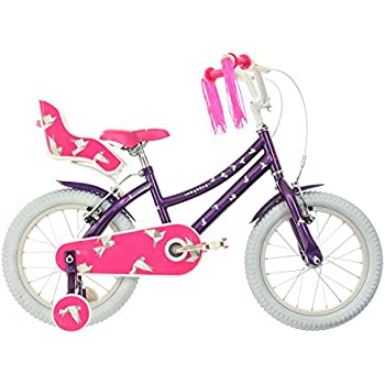 Raleigh Songbird Girls Kids Bike Purple 10 Inch Steel Frame 1