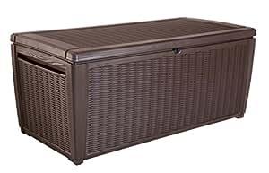 Keter Deck-Aufbewahrungsbox Sumatra, braun, ca. 511 L
