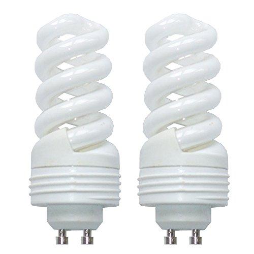 2er Set 11 Watt GU10 Energie Spar Leuchtmittel 2700 Kelvin 650 Lumen Beleuchtungen