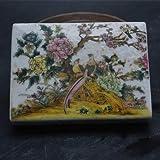 Fashion158 In The Republic China Fencai Blumen Vögel und Stempelstein Antique Collection Verschiedenes Briefpapier Jingdezhen Porzellan