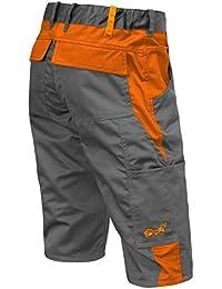 strongAnt® Pantalones Cortos de Trabajo para el Verano 280 GR - Hecho en la UE
