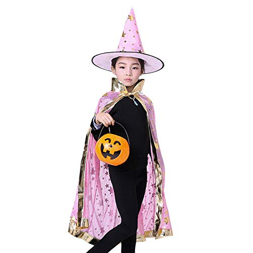 CZDXMCapa De Halloween Cos Capa De Bruja Capa Infantil