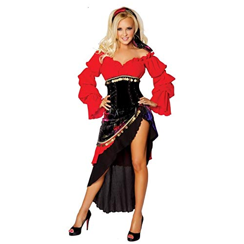 Spanische Kostüm Tänzerin - Fashion LeGastronomeSexy Spanische Flamenco-Tänzerin Kostüm! - Einheitsgröße (S/M)
