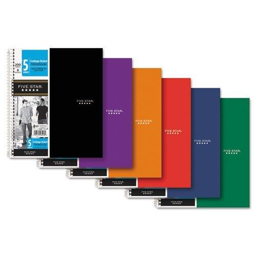 Five StarR 06208, NOTEBOOK, 11 x 8,5,200 SH da 5