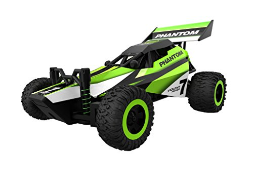 KINGBOT 2.4GHz Distant Management Racing Automotive Excessive Pace Automobile with Spring Shock Absorbers (Inexperienced)