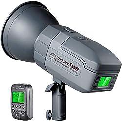 Neewer Vision5 400W TTL Flash Studio pour Sony - HSS Flash Extérieur avec 2,4G Système Déclencheur sans Fil,Batterie Lithium (500 Eclairs à Pleine Puissance),Ingénierie Allemande,Montage Bowens
