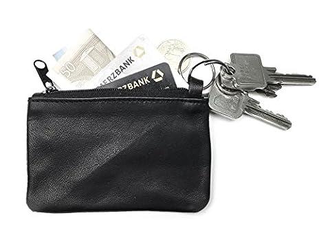 THEVERY® d'origine – Trousse pour clés, porte-clés, mini-portefeuille, petit porte-monnaie