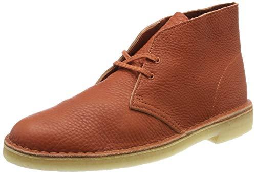 Clarks Originals Herren Desert Boot Klassische Stiefel, Weiß Off White Lea, 44 EU