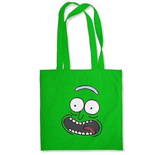 Planet Nerd Pickle Rick - Stoffbeutel, grün