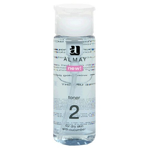 Almay Toner 2 For Dry Skin With Cucumber 150ml by Almay