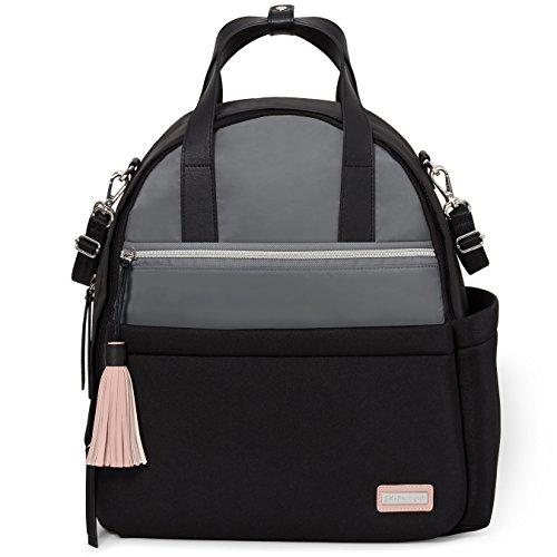 Skip Hop Nolita Bolso mochila cambiador de neopreno negro Grey/Black