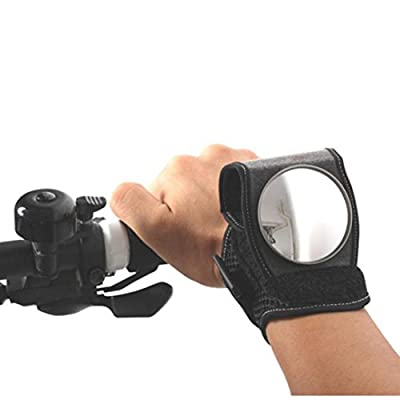 Gaddrt Bike Mirror Adjustable Bicycle Equipment Cycling Arm Wear / Wristband Safe Back Rear View Mirror - inexpensive UK light shop.