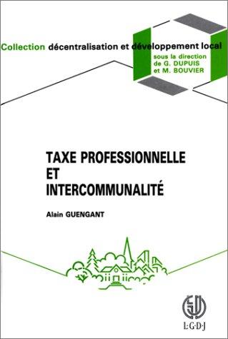 Taxe professionnelle et intercommunalité