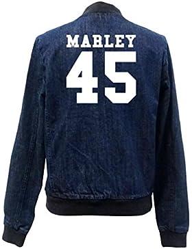 Marley 45 Bomber Chaqueta Girls Jeans Certified Freak