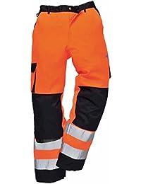 Portwest Workwear Mens Roubaix Hi-Vis Trousers