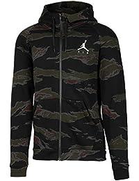 Nike Jordan Jumpman Fleece Camo - Talla L - Sudadera Com Capucha Full-Zip para