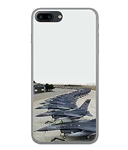 PrintVisa Fighter Palnes High Gloss Designer Back Case Cover for Apple iPhone 7
