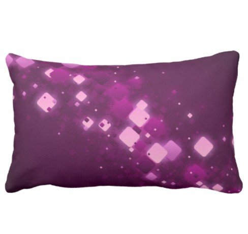 perfecone Heimwerker Kissenbezug Pink Cheetah Leopard Design für Sofa und Auto Kissenbezug 1 Packung