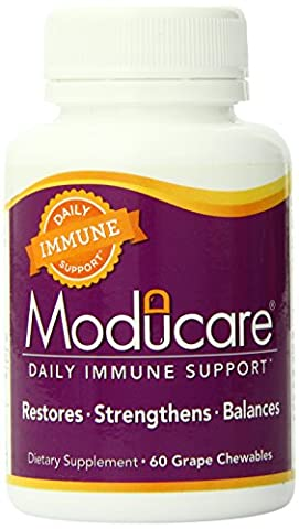 Moducare Immune System Support Grape (1x60 Chewable Tablets)