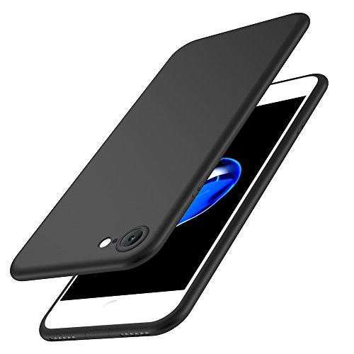 Custodia iPhone 6 Cover, Custodia Placcatura TPU Bumper Case Silicone Anti-graffio Copertura Tacsa Caso per apple iPhone 6s Plus Case Cover black
