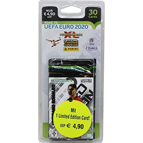Panini 404902 Sammelkarten Road to Euro 2020, 5 Booster und Limitierte Karte, bunt -