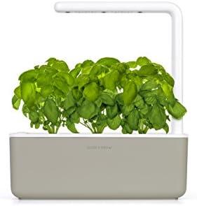 Click & Grow Smart Garden with 3Basil Cartridges