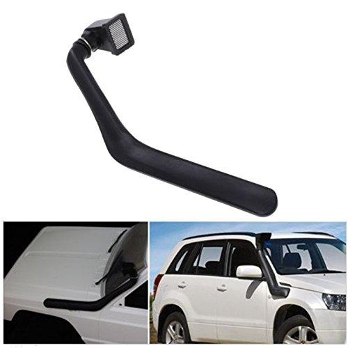 LWYANG 1/10 RC Crawler Autoteile Schwarz Gummi Safari Schnorchel for Axial SCX10 II 90046 90047 Body Car Shell Spielzeugzubehör Werkzeug