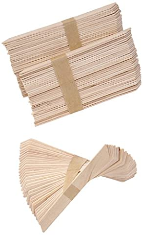 Gigi Small Accu Edge Applicators - Perfect Use for All Soft Waxes, 1er Pack (1 x 98 g)