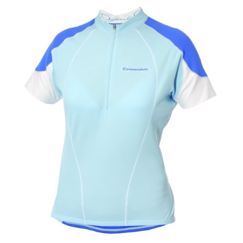 Cannondale Damen Klassische Jersey Bike, damen, hellblau (Bike-cannondale Damen)