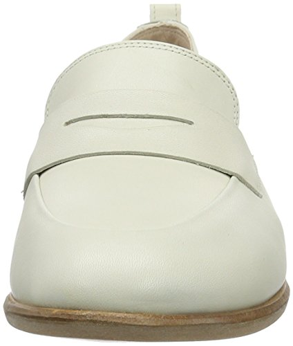 Clarks Alania Belle, Mocassins Femme Blanc (White Leather)