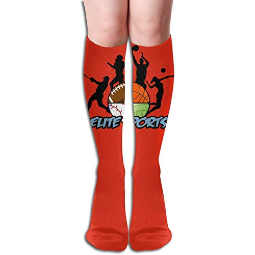 s Knee High Thigh Long Stocking Elite Sports Winter Warm Sexy Stocks ()