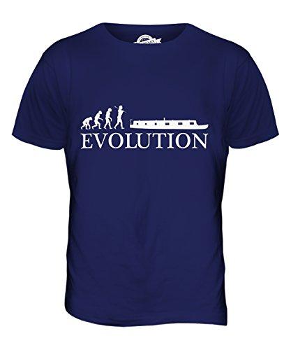 CandyMix Schiff Ohne Eigenen Antrieb Evolution Des Menschen Herren T Shirt Navy Blau