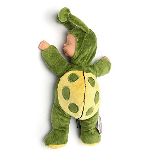 Andensoner 12 '' Baby Doll, 12 '' Hecho A Mano de Silicona Suave Viny Reborn Bebé Realista Muñecas Recién Nacidas Regalo de Las Niñas