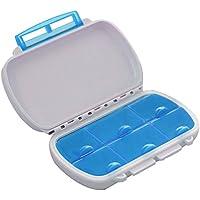 Tragbare Kunststoff 6-Fach Wasserdicht Feuchtigkeitsfesten Medizin Vitamin Tablette Pille Storage Box Behälter... preisvergleich bei billige-tabletten.eu