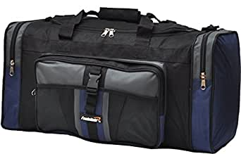 foolsGold Sports Holdall Bag 24 inch 50 Litre - Black/Navy