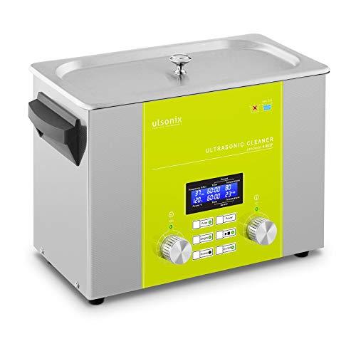 ulsonix PROCLEAN 4.0DSP Ultraschallreiniger 4 Liter Ultraschallreinigungsgerät Degas Sweep Pulse Memory Quick Heizleistung 220 W Ultraschallleistung 160 W 37 kHz LED