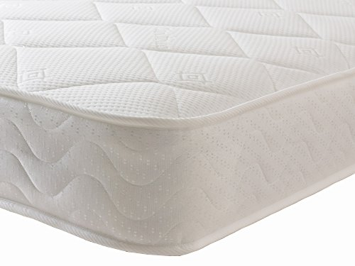 Starlight Beds - Double Mattress Memory Foam Mattress. Sprung Double Mattress With Memory Foam And A Deluxe Knitted Onion Micro Quilted Stretch Fabric. Fast (4ft6 Double Mattress)