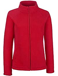 2ee52e5da687ba Fruit of the Loom Damen Sweatjacke Full Zip Fleece Lady-Fit 62-066-