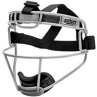 Schutt Sports Youth Softball Fielders Faceguard, Titanium Silver