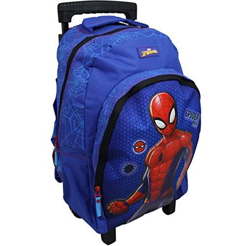 Vadobag Marvel Spiderman Trolley XL Koffer Kinderkoffer Rucksack Reisekoffer Tasche groß