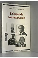 L'Ouganda contemporain Broché
