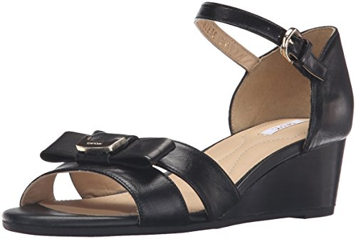 Sandali e infradito per le donne, colore Nero , marca GEOX, modello Sandali E Infradito Per Le Donne GEOX D LUPE Nero Nero